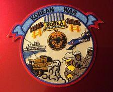KOREAN WAR VETERAN COMMEMORATIVE NAVY ARMY USAF USMC SQUADRON PATCH KOREA