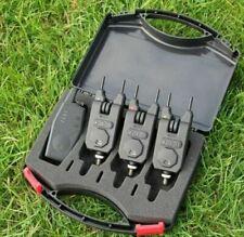 Rovex Wireless 3+1 Bite Alarm & Receiver Set Carp Fishing RRP £89.99