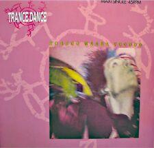 ++TRANCE DANCE hoodoo wanna voodoo/a love song MAXI PROMO 1986 CBS VG++