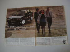 advertising Pubblicità 1986 LANCIA DELTA HF TURBO