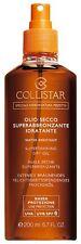 Collistar Olio Secco Superabbronzante Idratante SPF 6 200ML water resistant