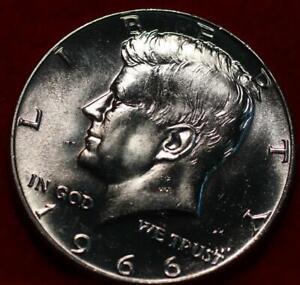 Uncirculated 1966 Philadelphia Mint Silver Kennedy Half