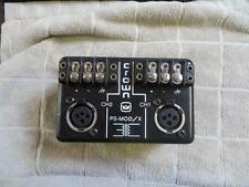 Crown PS-MOD/X Balanced Input Module PS-400 PS-200 Amplifiers Good Condition