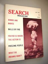 Search Magazine #87 ~1969 paranormal UFO'S prayer bombs and babies power of pray