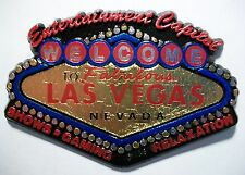 Welcome to Las Vegas 5 Color Fridge Magnet