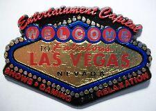 Welcome to Las Vegas 5 Color Fridge Magnet
