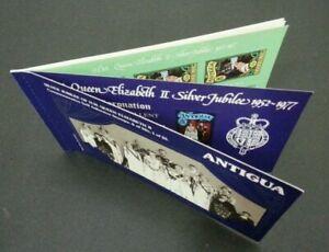 [SJ] Antigua Silver Jubilee If HM Queen Elizabeth II 1977 Royal (booklet) MNH