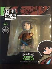 Loot Crate Exclusive Frodo Baggins Weta Mini Epics, Glowing Sting, LotR