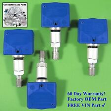 Set of 4 Nissan Infiniti TIRE PRESSURE SENSOR TPMS OEM 40700-1AA0B blue SET-TS09