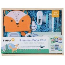 Premium Baby Care & Precious Memories Gift Set - Fox Face - Safety 1st - New