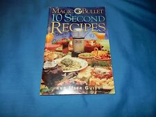 2003 Magic Bullet 10 Second Recipes and User Guide / Instruction Book