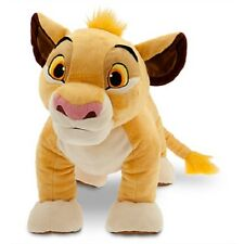 "LARGE~DeLuxe~SIMBA~35""L~H88.9cm~PLUSH~The Lion King~NWT~Disney Store~2014"