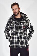 SUPERDRY Felpa Sweatshirt Multicolore Con Cappuccio In Cotone Taglia L Uomo Man