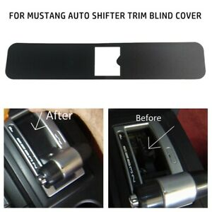 05 THRU 09 For FORD MUSTANG AUTO SHIFTER TRIM BLIND COVER Trim-Replacement