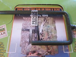 """NEW Primos Dual Arm Gun & Bow Hook Holder 4"""" & 8"""" Box of 12 6545 More Listed"""