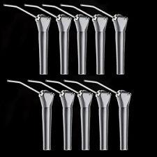 10pc Dental Triple Way Air Water Syringe Mist & 20 Nozzles Tips