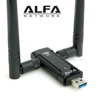 Alfa AWUS036AC 802.11ac 867 Mbps Long Range WiFi USB Adapter DUAL BAND 2.4/5 GHz