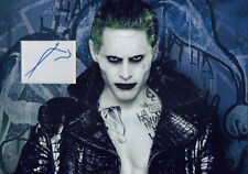 JARED LETO Signed 12x8 Photo SUICIDE SQUAD & BLADE RUNNER 2049 COA