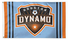 HOUSTON DYNAMO Football Club Huge 3'x5' Official MLS Soccer DELUXE FLAG