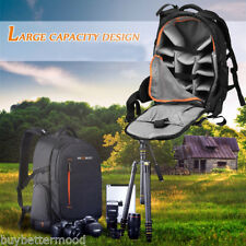 Professional Waterproof Large Backpack Bag Case Shoulder for Camera Laptop DSLR