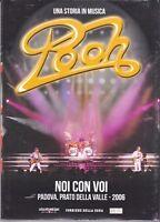 Dvd + Libretto POOH - NOI CON VOI - PADOVA PRATO DELLA VALLE slipcase nuovo 2006