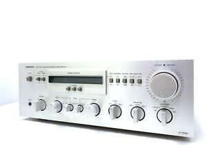 Onkyo A-7090 Integrated Stereo Amplifier 220 W RMS Vintage 1980 Hi End Like New