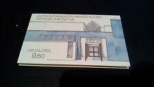 Finnland Markenheftchen MH 17 Architektur 1986 Postfrisch