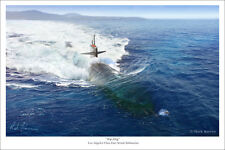 "Los Angeles Class Fast Attack Submarine Naval Art Print 16"" x 24"""