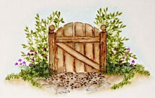 Art Impressions Grassy Hill RETIRED  U get photo#2 L@@K@examples  Rubber Stamps