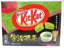 ONLY SELL AIRPORT Nestle Kit Kat Chocolate Green Tea Uji Matcha Maccha 1bx JAPAN