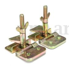 2pcs Gold Silk Screen Printing Frame Butterfly Hinge Clamp Clip Holder DIY Tool