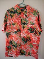 Vintage 60s Sir Clifford Holidaywear Tropical Hawaiian Aloha Mens Shirt M-L