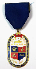 IVV AVA Volksmarch Medal (127) - 1988 AVA 10th Anniv Convention Committee Medal