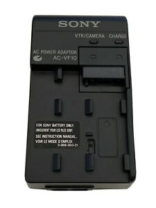 Mint Genuine Sony Camcorder AC-VF10 AC Power Adapter Battery Charger