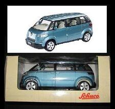 Nuevo roadster 1:24 VW microbus concept verde-azul met. 18cm