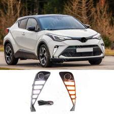 For 2020 Toyota C-HR LED Front Daytime Running Light DRL/ Turn Signal Light 2pcs