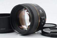 Minolta AF 85mm f/1.4 G (D) Lens w/Hood [Very good] from Japan (06-W53)