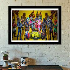 fortnite crue5 poster print all sizes modern art deco