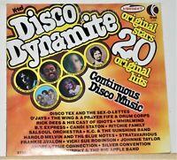 K-Tel Disco Dynamite - 20 Original Hits & Stars - 1976 Vinyl LP Record Album