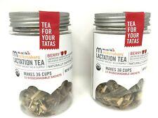 2x Milkmakers Lactation Tea Berry Makes 36 Cups / 12 Sachets each - Exp Jan 2023