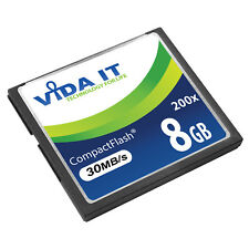 8GB CF Compact Flash Memory Card Speed 30MB/s For Canon EOS 10D 20D 20Da Camera