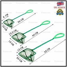 More details for fish net aquarium easy catch net tropical cold water marine tank cleaning 3 size