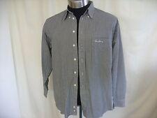 Burberry Long Sleeve Cotton Blend Men's Casual Shirts & Tops