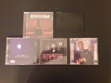LOT OF 5 RAP/HIP HOP CD'S EMINEM JAY Z LL COOL J BOW WOW MC HAMMER