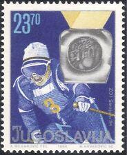 Yugoslavia 1984 Juegos Olímpicos de Invierno/Deportes/Esquí/medalla ganador 1 V (n21706d)