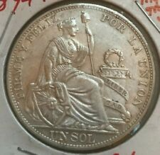 1894 TF Peru 1 One Sol - Nice Condition - Possible Light Cleaning
