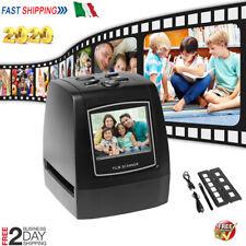 2.4''LCD FILM SCANNER 35/135 MM NEGATIVI /DIAPOSITIVE SCANNER CONVERTITORE NUOVO