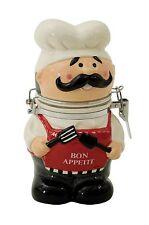 Boston Warehouse Hinged Jar, Bon Appetit Chef