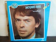"""LP 12"""" JACQUES BREL - Ne me quitte pas - ALBUM D'OR - EX/VG+ - PHILIPS 9101 243"""
