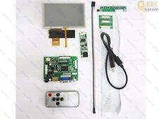 """HDMI+VGA+2AV LCD driver board 5"""" 800x480 HSD050IDW + Touch panel For Your Pi"""